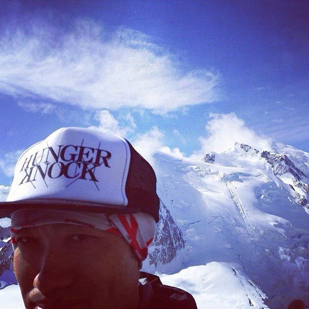 ランブラーさんは世界最高峰のレースUTMBで着用