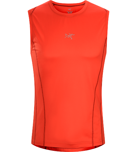 Sarix-Sleeveless-Race-Pace-Red